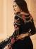 Black georgette wedding wear salwar kameez