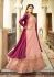 Drashti Dhami Pink and dark pink color georgette party wear anarkali kameez