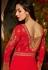 Malaika Arora khan georgette red color party wear salwar Kameez