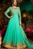 Malaika Arora khan georgette turquoise color party wear salwar Kameez