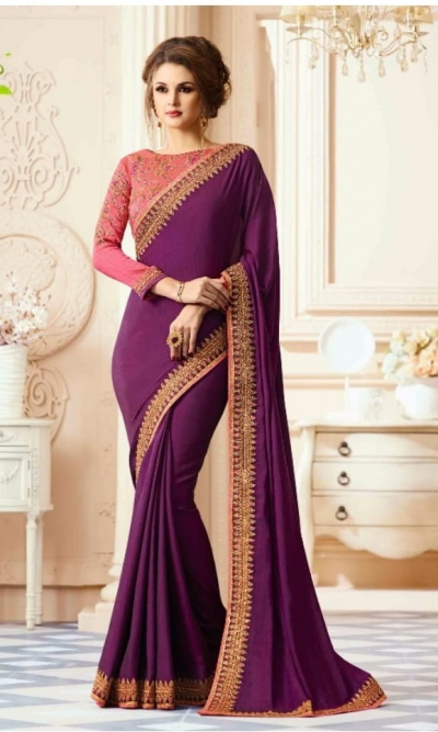 Party-wear-Purple-designer-sarees-30005