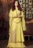 Dia Mirza Yellowcolor georgette Lehenga kameez 45004