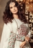 Dia Mirza White color georgette Anarkali kameez 45005