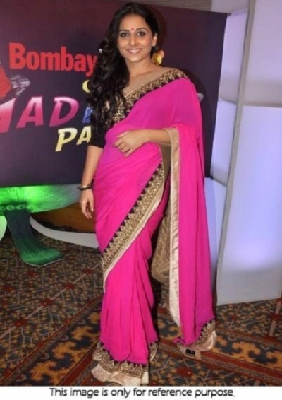 Vidya Balan saree at Bombay Times 17th anniversary bash at JW Marriott Juhu