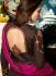 Malaika Arora khan georgette brown color wedding anarkali lehenga kameez