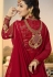 Ayesha Takia Red color georgette party wear Anarkali