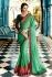Party wear Designer Sarees Green Colour 7806