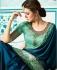 Party wear Designer Sarees Blue Colour 7807