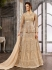 Off White Net color wedding wear Ghagra Choli