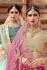 Indian Dress Pink Color Bridal Lehenga 1101