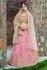 Indian Dress Peach Color Bridal Lehenga 1004