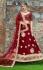 Indian Dress Maroon Color Bridal Lehenga 1005