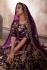 Indian Dress Purple Color Bridal Lehenga 359P