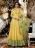 Jennifer Winget Yellow Indian wedding anarkali 1135