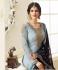 Blue georgette Indian wedding straight cut churidar 10002