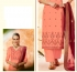 Peach dola silk Indian Palazzo salwar kameez K13