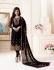 Ayesha Takia Black straight cut Indian churidar suit 32001