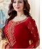 Ayesha Takia Red straight cut Indian churidar suit 32002