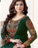 Ayesha Takia Green straight cut Indian churidar suit 32003