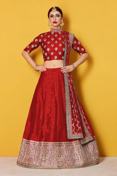 b32f19210d Red-Art-Silk-Indian-wedding-wear-lehenga-choli-601.jpg