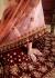 Maroon peach silk Indian Wedding wear lehenga choli 1206