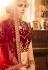 Maroon Silk Indian wedding Lehenga choli 003