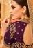 Purple Silk Indian wedding Lehenga choli 005