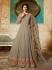 Amyra Dastur Beige georgette wedding anarkali 9082