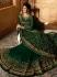 Amyra Dastur Green georgette wedding anarkali 9083