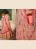 Amyra Dastur Peach georgette wedding anarkali 9084