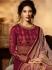 Amyra Dastur Magenta georgette wedding anarkali 9087
