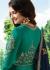 Bollywood Prachi Desai Teal Silk Indian wedding anarkali 8073