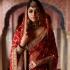 Bollywood Sabyasachi Mukherjee Inspired Red georgette silk saree