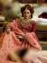 Peach Organza wedding wear lehenga choli 10653