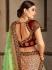 Peach Satin Indian Wedding lehenga choli 8008