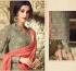 Green heavy embroidered straight cut georgette salwar 53005