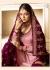 Drashti Dhami Pink purple wedding sharara suit 2502