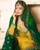 Drashti Dhami Yellow green wedding sharara suit 2503