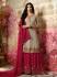 Amyra Dastur Beige Indian sharara style wedding suit 4010