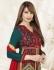 Bipasha Basu Green,Yellow and  Red Velvet Silk  Lehenga Dress with Duppatta
