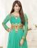 Bipasha Basu Sea Green Georgette  Anarkali Salwar Kameez