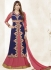 Bipasha Basu Blue and Pink Georgette  Lehenga Dress with Duppatta