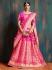 Gajri pure banarasi silk Indian wedding lehenga choli 62001