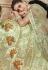 Pista green satin Indian wedding lehenga choli 4602