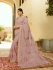 Dusty pink silk Indian wedding wear saree 5002