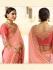 Light pink silk Indian wedding wear saree 5009