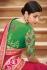 Pink banarasi weaving silk Indian wedding saree 1015