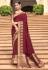 Maroon banarasi weaving silk Indian wedding saree 1017