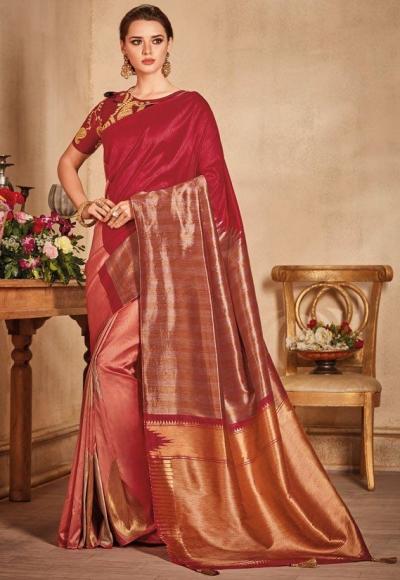 696be99d2c Maroon-color-silk-Indian-wedding-saree-935.jpg