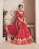 Pink fancy silk Indian wedding saree 2303